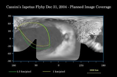 Iapetus coverage map