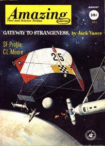 Cover illustration for \'Gateway to Strangeness\'