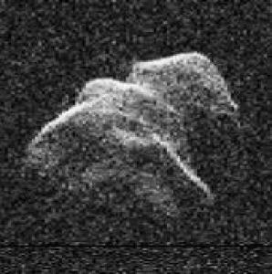 The asteroid Toutatis