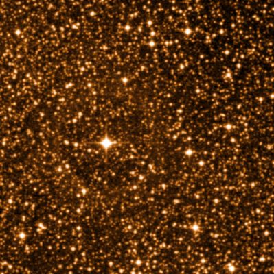 Infrared image of Proxima Centauri