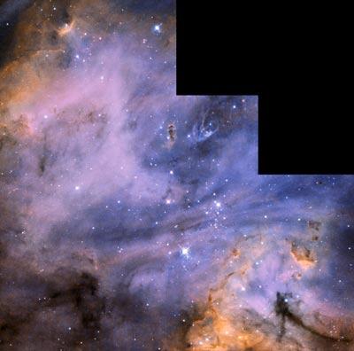 Star formation in LMC