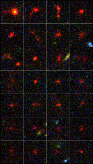 Image of oldest galaxies