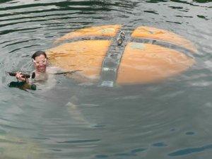DEPTHX in the water
