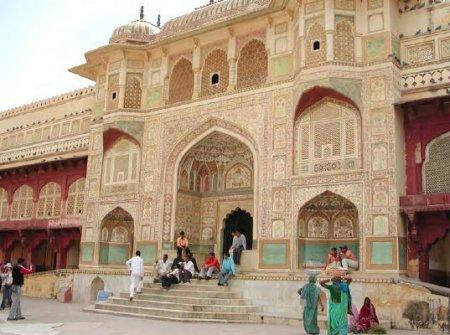 Amber Fort outside Jaipur
