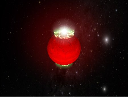 Aurorae on a brown dwarf
