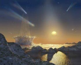 Bombardment of Tau Ceti