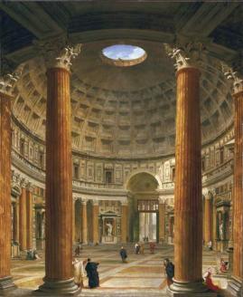Pantheon painting