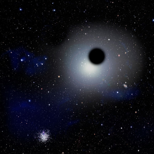 star galaxy black hole - photo #17