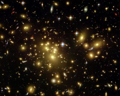 Galaxy Cluster Abell 1689 HST ACS WFC H. Ford (JHU)