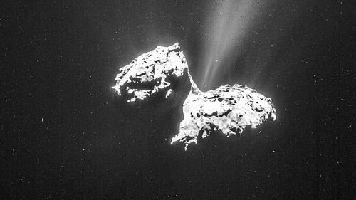 Rosetta snaps Comet Activity