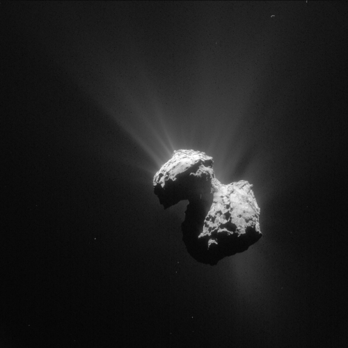 Comet_on_7_July_2015_NavCam