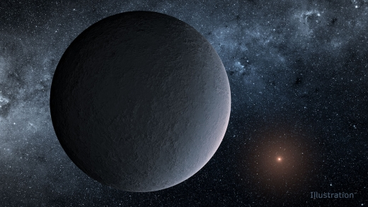 Planetary Discovery around Ultracool Star