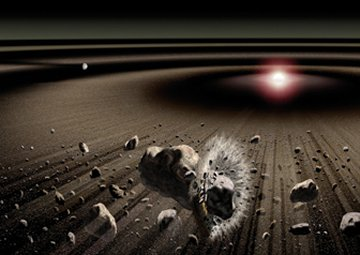 Dust ring around Beta Pictoris