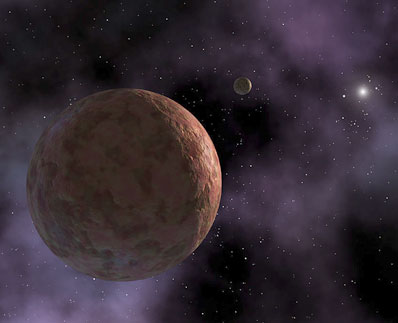 Artist\'s impression of Sedna