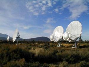 Hat Creek Observatory dishes