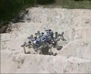 ESA rover at work