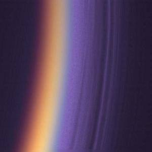 Haze around Titan