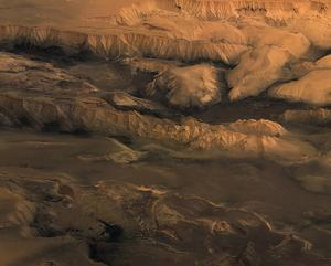 Valles Marineris at widest point