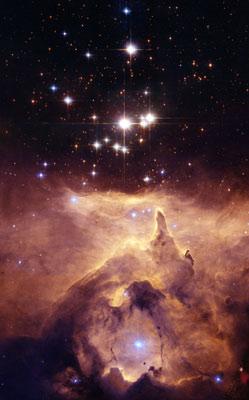 Pismis 24 cluster