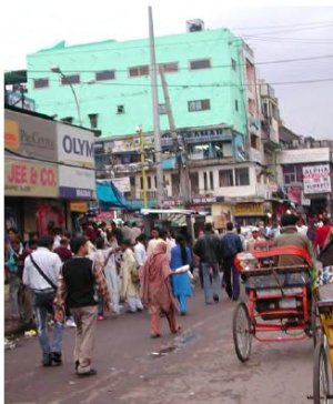 A Delhi bazaar