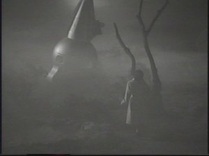 A scene from The Man from Planet X