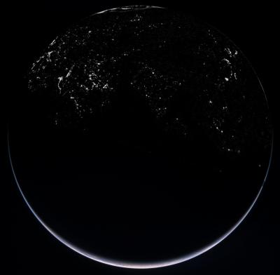 Rosetta view of Earth