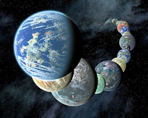 Terrestrial worlds in profusion