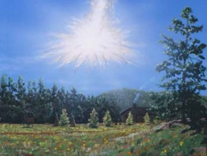 The Tunguska object explodes in the upper atmosphere