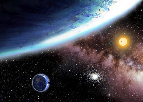 Water Worlds in the Habitable Zone