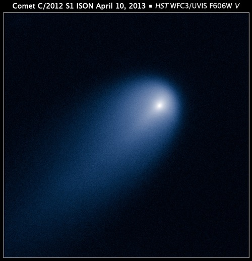 Riding on Comets' Coat-tails