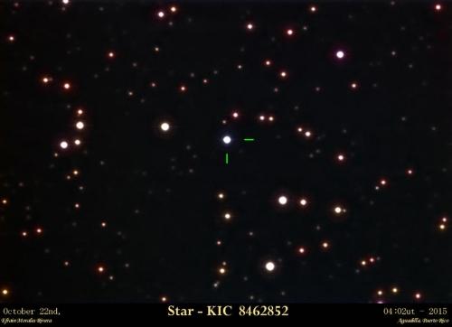 KIC8462852EfraSAC
