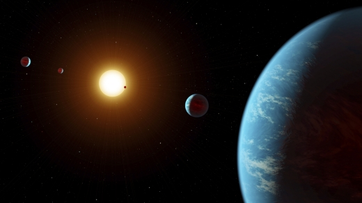 K2-138: Multi-Planet System via Crowdsourcing