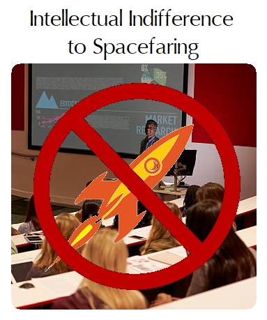Indifferently Spacefaring Civilizations