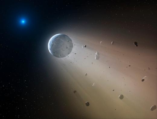Transiting Debris around a White Dwarf
