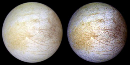What Sodium Chloride Means for Europa's Ocean