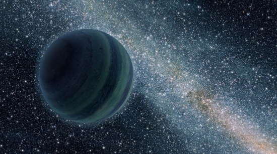 Liquid Water on a Free Floating Planet's Moon?
